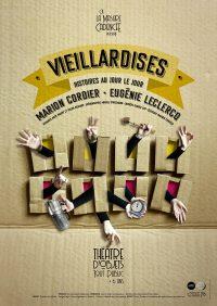 affiche Vieillardises © Isabelle Fournier